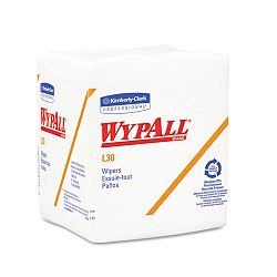 "WYPALL L30 Wipers 12 12"" x 13"" Box of 90 Carton of 12 (KIM05812)"