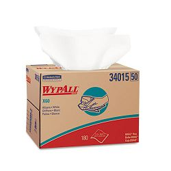 "WYPALL X60 Wipers 12 12"" x 16 78"" Box of 180 (KIM34015)"