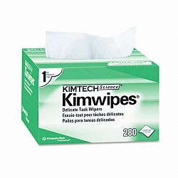 "KIMTECH SCIENCE KIMWIPES Tissue 4 25"" x 8 25"" 280Box (KIM34155)"
