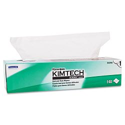 "KIMTECH SCIENCE KIMWIPES Tissue 16 35"" x 16 58"" 140Box (KIM34256BX)"
