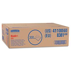"WYPALL X70 Wipers Flat Sheet 14 910"" x 16 35"" White Carton of 300 (KIM41100)"