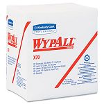 "WYPALL X70 Wipers 14-Fold 12 12"" x 14 25"" White 76Pack Carton of 12 (KIM41200)"