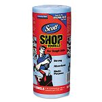 "SCOTT Shop Towels Roll 10 25"" x 11"" Blue 55Roll 30Carton (KIM75130)"