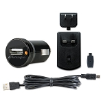 Car and Wall Charger MiniMicro USB Black (KMW39254)