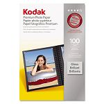 "Premium Photo Paper 64lb Glossy 4"" x 6"" 100 SheetsPack (KOD1034388)"