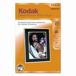 "Ultra Premium Photo Paper 76 lbs. High-Gloss 11"" x 17"" 20 SheetsPack (KOD1760909)"