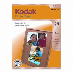 "Photo Paper 44 lbs. Glossy 8-12"" x 11"" 25 SheetsPack (KOD1912369)"