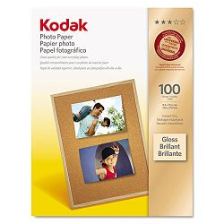 "Photo Paper 6.5 mil Glossy 8-12"" x 11"" 100 SheetsPack (KOD8209017)"