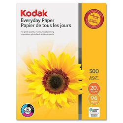 "Everyday Multipurpose Paper 96 Brightness 20lb 8-12"" x 11"" White 500Ream (KOD83201)"
