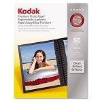 "Premium Photo Paper 64lb Glossy 8-12"" x 11"" 50 SheetsPack (KOD8360513)"