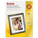 "Ultra Premium Photo Paper 76 lbs. High-Gloss 8-12"" x 11"" 25 SheetsPack (KOD8366353)"