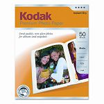 "Premium Photo Paper 64lb Matte 8-12"" x 11"" 50 SheetsPack (KOD8621690)"