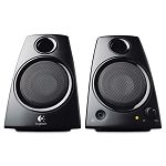 Z130 Compact Laptop Speakers 3.5mm Jack Black (LOG980000417)