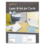 "Unruled Index Cards 4"" x 6"" White Box of 100 (MACML8575)"