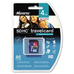 Secure Digital Travel Card 4GB (MEM07580)