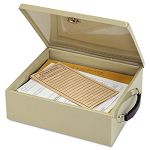 Jumbo Cash Box with Lock Sand (MMF221615103)
