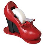 "Shoe Tape Dispenser Red High Heel 1"" Core (MMMC30SHOE)"