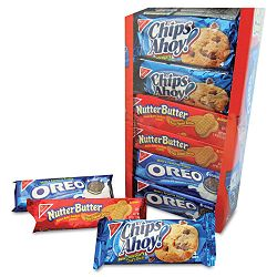 Variety Pack Cookies Assorted 1 34 oz Packs 12 PacksBox (NFG88032)