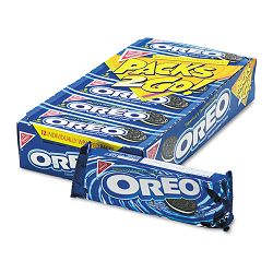 Oreo Cookies Chocolate with Cream Center 6-Cookie Pack 12 PacksBox (ORE03742)