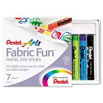 Fabric Pastel Dye Sticks Assorted Set of 7 (PENPTS7)