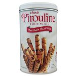 Chocolate Hazelnut Pirouline Rolled Wafers 14 oz (PIR05051)