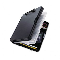 "WorkMate II Storage Clipboard 12"" Capacity Holds 8-12""w x 12""h BlackCharcoal (SAU00552)"