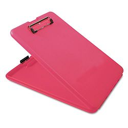 "SlimMate Portable Desktop 1"" Capacity Holds 8 12w x 12""h Pink (SAU00835)"