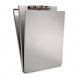 "A-Holder Aluminum Form Holder 12"" Capacity Holds 8-12""w x 12""h Silver (SAU10017)"