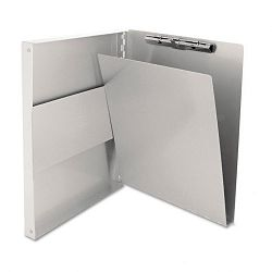 "Snapak Aluminum Forms Folder 12"" Capacity Holds 8-12""w x 12""h Silver (SAU10517)"