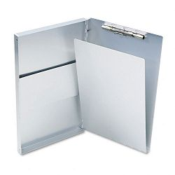 "Snapak Aluminum Forms Folder 12"" Capacity Holds 8-12""w x 14""h Silver (SAU10519)"