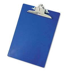 "Plastic Antimicrobial Clipboard 1"" Capacity Holds 8-12""w x 12""h Blue (SAU21602)"