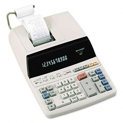 EL1197PIII Two-Color Printing Desktop Calculator 12-Digit FluorescentBlackRed (SHREL1197PIII)