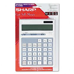 EL2139HB Portable Executive DesktopHandheld Calculator 12-Digit LCD (SHREL2139HB)