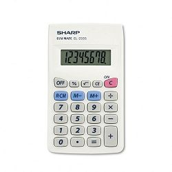 EL233SB Pocket Calculator 8-Digit LCD (SHREL233SB)