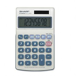 EL240SB Handheld Business Calculator 8-Digit LCD (SHREL240SB)