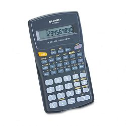 EL-501WBBK Scientific Calculator 10-Digit LCD Black (SHREL501WBBK)