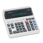 QS-2122H Compact Desktop Calculator 12-Digit Fluorescent (SHRQS2122H)