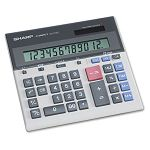 QS-2130 Compact Desktop Calculator 12-Digit LCD (SHRQS2130)