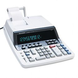 QS2760H Two-Color Ribbon Printing Calculator 12-Digit Fluorescent BlackRed (SHRQS2760H)