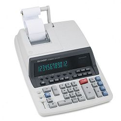 QS2770H Two-Color Ribbon Printing Calculator 12-Digit Fluorescent BlackRed (SHRQS2770H)