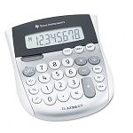 TI-1795SV Minidesk Calculator 8-Digit LCD (TEXTI1795SV)