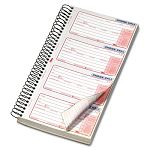 "Second Nature Phone Call Book 2-34"" x 5"" Two-Part Carbonless 400 Forms (TOP74620)"