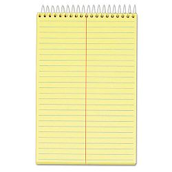 "Docket Steno Pad Gregg Rule 6"" x 9"" Canary 144 SheetsPad (TOP99617)"