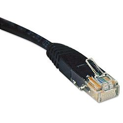 CAT5e Molded Patch Cable 25 ft. Black (TRPN002025BK)
