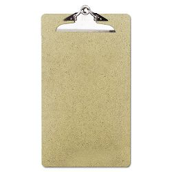 "Recycled Clipboard 12"" Capacity Holds 8-12""w x 14h Brown Pack of 3 (UNV05563)"