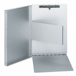 "Aluminum Document Box 25"" Capacity Holds 8-12""w x 11""h Silver (UNV40300)"