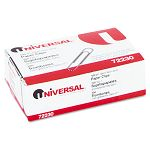 Nonskid Paper Clips Wire No. 1 Silver Box of 100 (UNV72230BX)