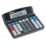 1200-4 Business Desktop Calculator 12-Digit LCD (VCT12004)