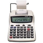 1208-2 Two-Color Compact Printing Calculator 12-Digit LCD BlackRed (VCT12082)