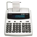 1225-3A AntiMicrobial Two-Color Printing Calculator 12-Digit Fluorescent (VCT12253A)